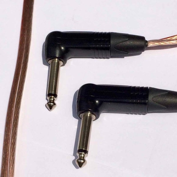 "Guitar speaker cable ""AMP CONNECT"" Angle plug - Angle plug"