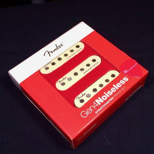 Fender Gen4 Noiseless Stratocaster Pickup Set